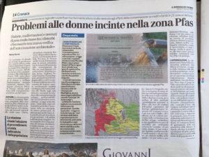 Articolo-pfas-vicenza-padova-verona-acqua-inquinata-miteni-inquinamento-falde-acquifere-effetti-salute-problemi-donne-incinte-2