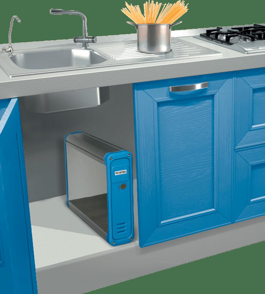Purificatore acqua domestico ad osmosi inversa per il rubinetto di casa con impianto sottolavello - Depurare l acqua di casa ...